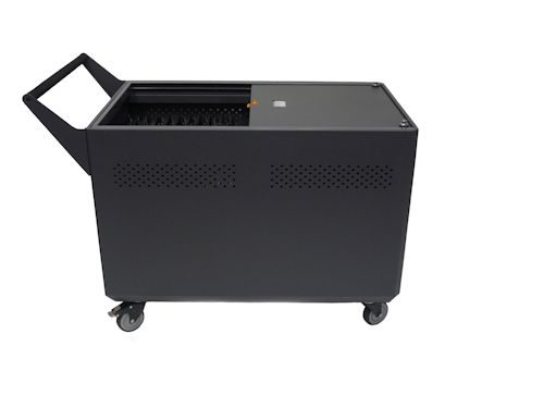 DS-GR-CB-L40-C Chromebook Cart Charges 40 Chromebooks