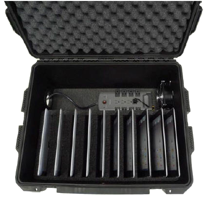 DS-IP-TC10C - 10-slot Transport Case for Charging iPads