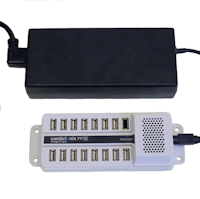 DS-SC-PP15 - 15-port Universal Sync and Charge USB Hub