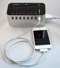 Series8: Universal 8-port USB Charging Hub
